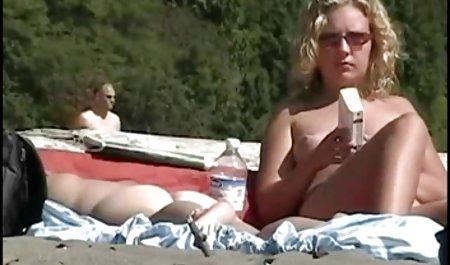 Tanpa kondom pantat bokeb barat terbaik besar istri ejakulasi di dalam anal MILF memakai